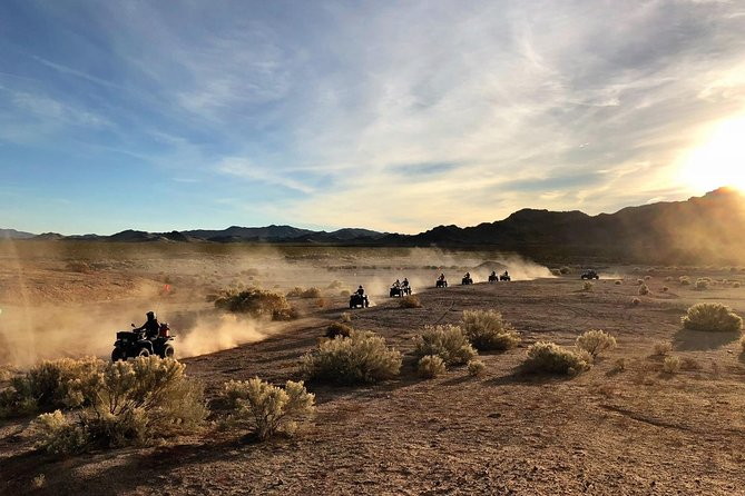 Half-Day Mojave Desert ATV Tour from Las Vegas with Lunch photo 1
