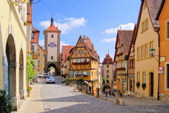 Circuit Munich-Francfort de 3 jours - Route romantique, Rothenburg, Hohenschwangau, Neuschwanstein