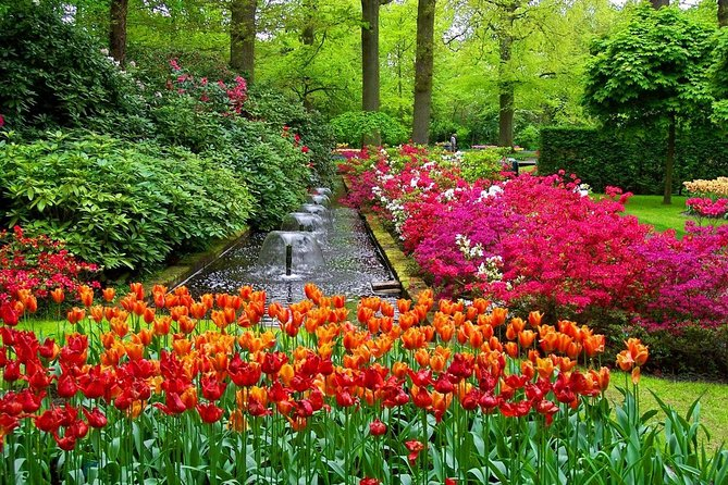 Keukenhof & Flower fields, Volendam and Windmills & Canal cruise