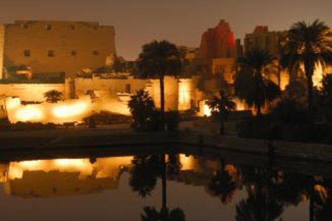 Luxor Landausflug: Tempel von Karnak Ton- und Lichtershow mit privatem Transport