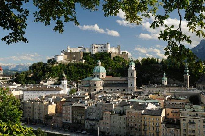 Salzburg Highlight Tour with Fortress Hohensalzburg