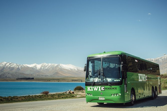 Flexible Fully Guided New Zealand Bus Pass - Auckland to Christchurch & AddOns