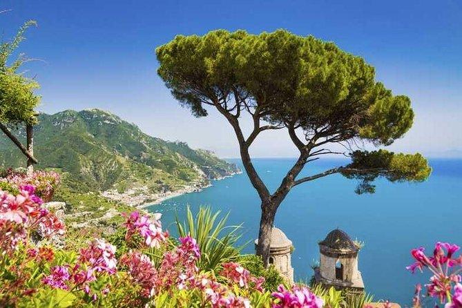 Transfer from Naples Airport to Amalfi con minivan