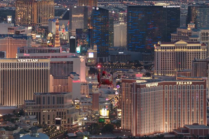 Las Vegas Strip Highlights Helicopter Tour