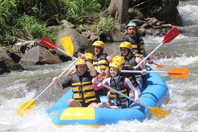 Bali Ubud Ayung River Rafting med lunch