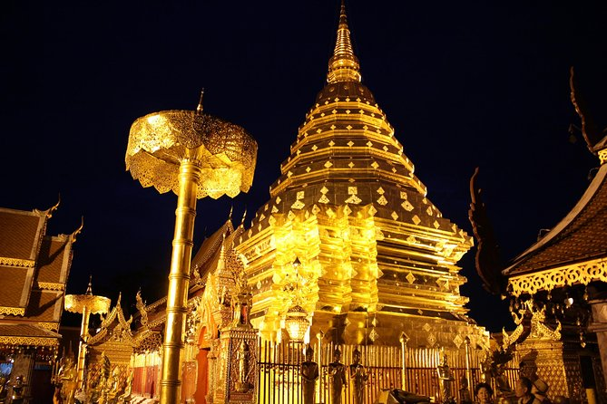 Amazing Night tour ! Wat umong & Doi suthep at Night - Top Must visit place