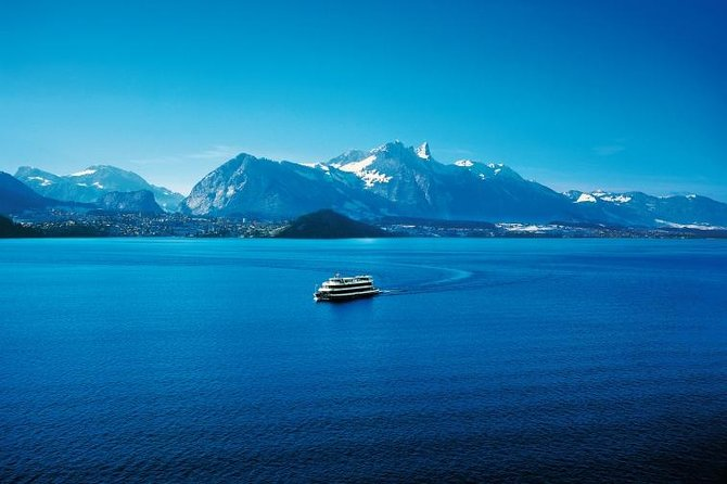 Interlaken Cruise Day Pass on Lake Thun and Lake Brienz, 2nd class