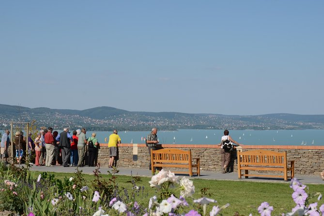 Lake Balaton and Herend Porcelain Manufactory from Budapest