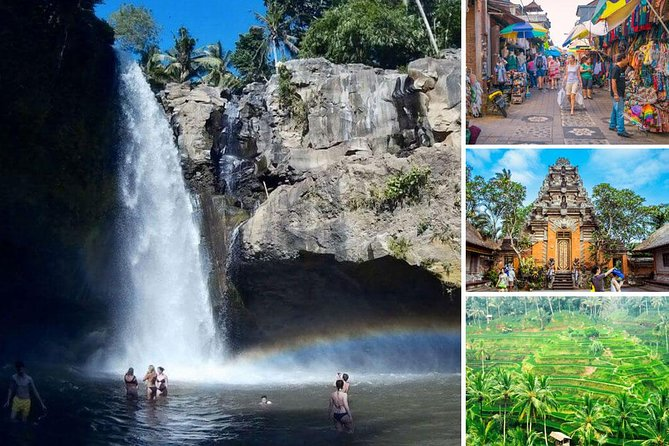 Bali Day-Tour: Ubud Waterfall Half Day Trip