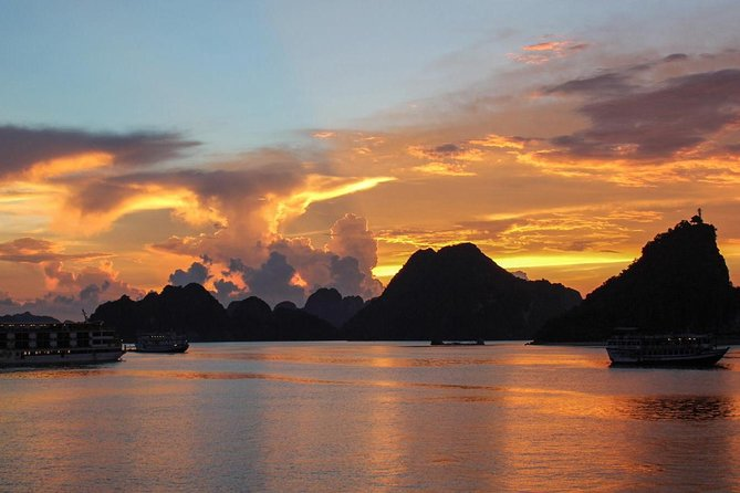 Deluxe Halong Bay 6 Hours Cruise To Visit Surprising Cave And Titop Island
