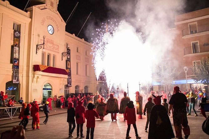 Experience Catalonia: Correfoc Fire Running Festival Experience from Barcelona photo 4
