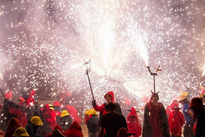 Experience Catalonia: Correfoc Fire Running Festival Experience from Barcelona photo 2