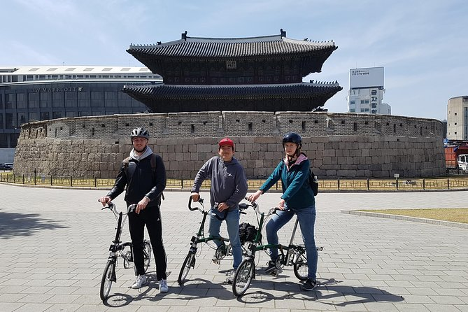 Cheonggyecheon Bicycle Tour: Twilight in Seoul