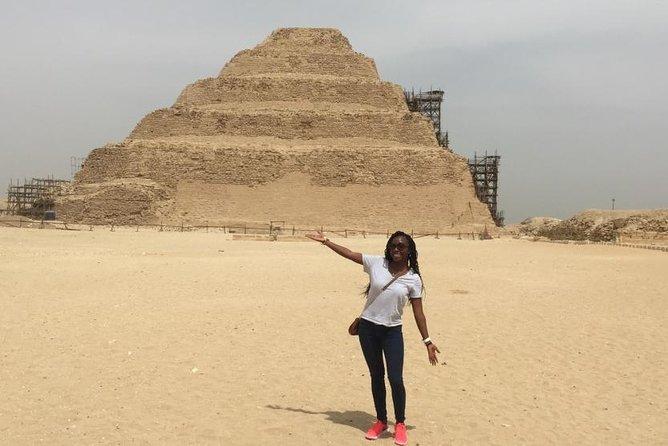 Pyramids of Egypt Day Tour: Giza Pyramids, Sakkara and Dahshur Pyramids