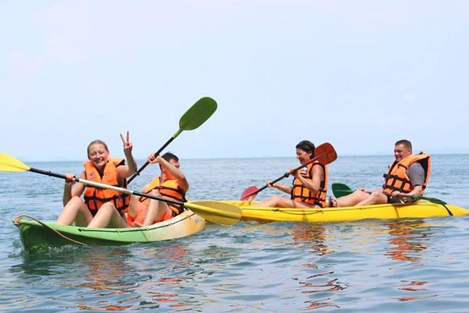 4 Islands Snorkeling and Kayaking Tour By Big Boat From Krabi