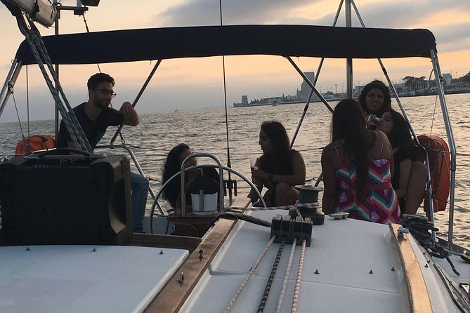 Lisbon Sunset Sensations Sailing Tour with white or rosé wine & snacks photo 18