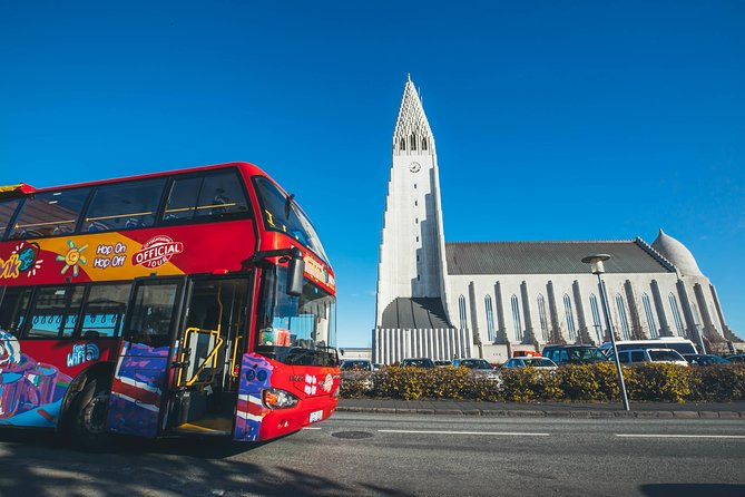 Excursión turística en autobús con paradas libres por Reykjavik