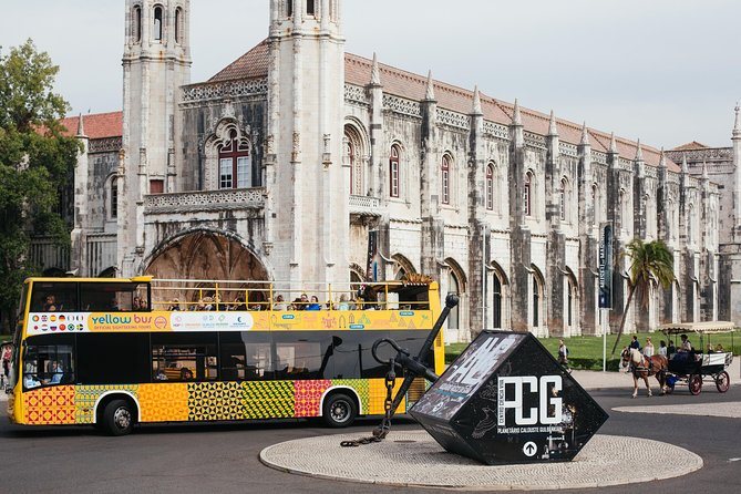 Lisbon Combo: Hop-On Hop-Off Tour with Three Routes Including Tram