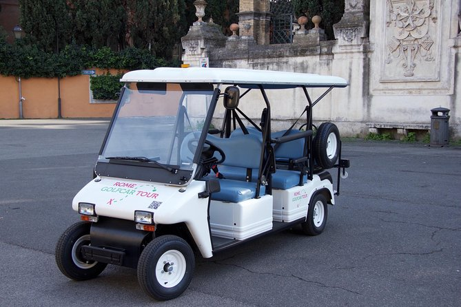 Rome in Golf Car - History and Entertainment