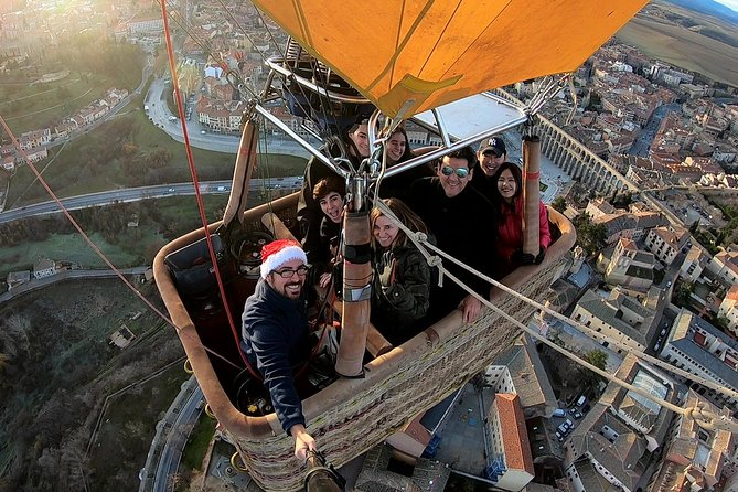 Balloon Rides in Segovia with Optional transportation from Madrid