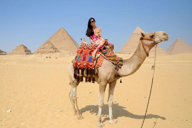 5 hours Experience to Giza pyramids sphinx plus camel cruise lunch on Nile photo 17