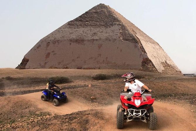 Quad bike adventure with Guided tour to Giza pyramids including camel ride photo 8