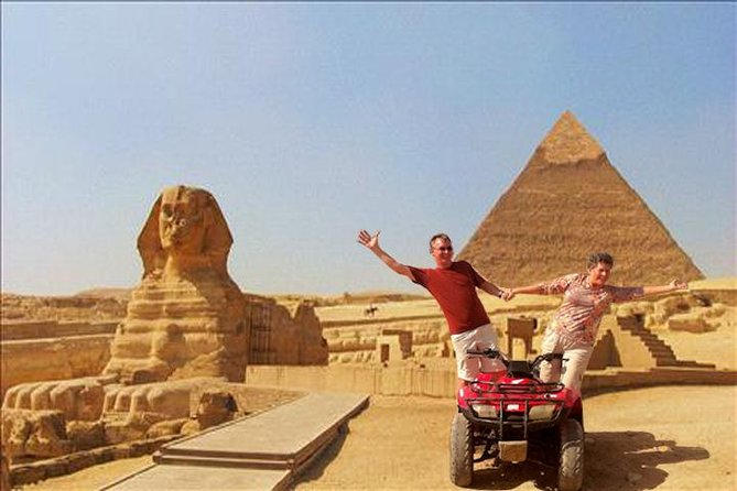 Quad bike adventure with Guided tour to Giza pyramids including camel ride photo 10
