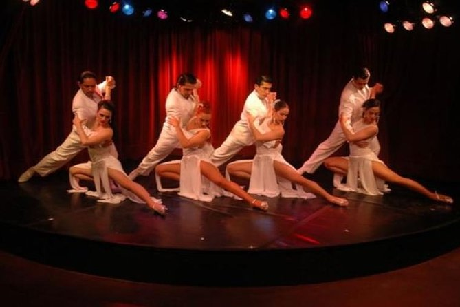 Luxury Rojo Tango Show with Optional Gourmet Dinner