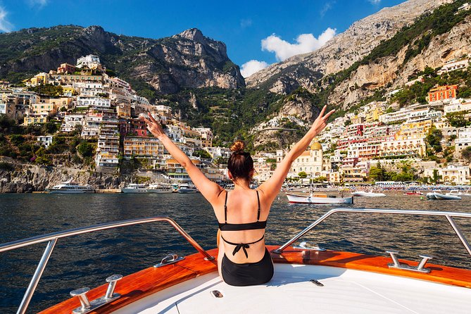 Small-group boat tour of the Amalfi Coast from Sorrento