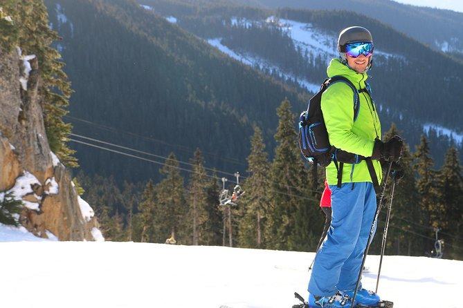 ロッキー山脈の大Year日スキー旅行