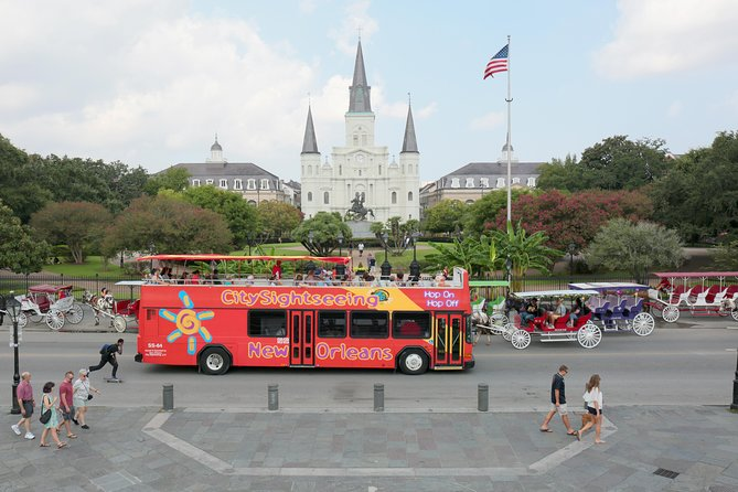 City Sightseeing New Orleans Hop-On Hop-Off Bus Tour