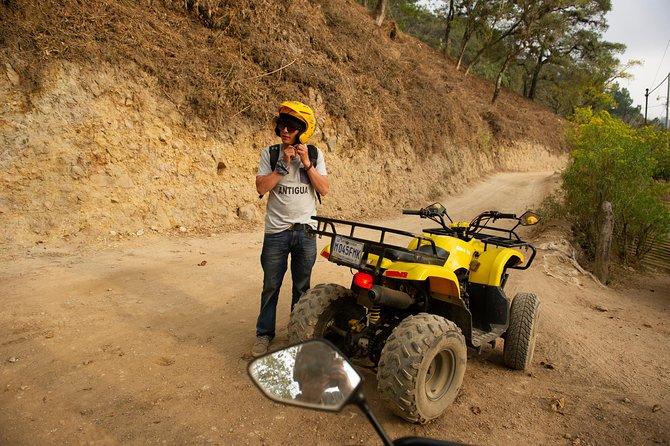 Recorrido de aventura en la montaña de Antigua en quad, motocicleta o scooter