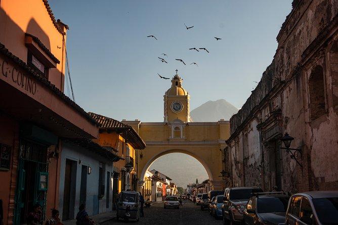 Recorrido por la ciudad en Antigua Guatemala