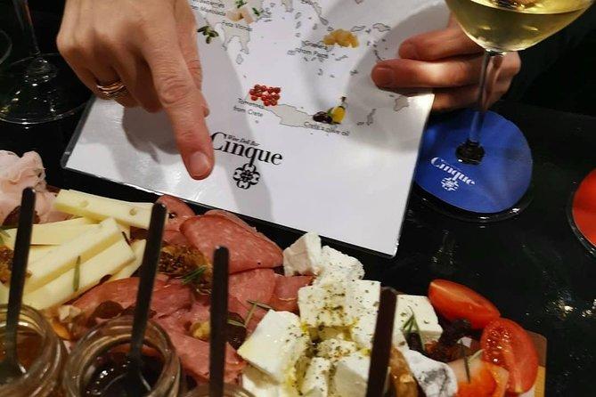 Greek food and wine tasting
