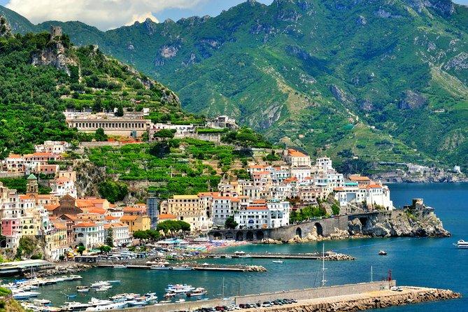 Amalfi drive shared tour 8 pax
