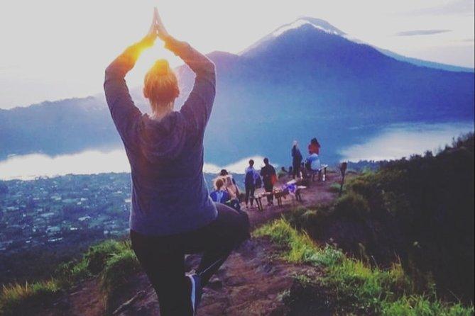 Climbing Mount Batur