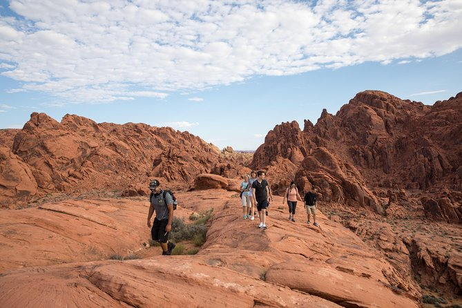 Valley of Fire Hiking Tour from Las Vegas