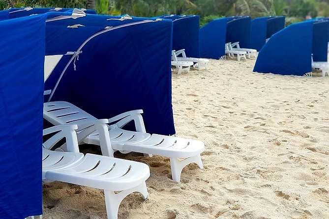 Mystery Island: Exclusive Beach Lounger Hire