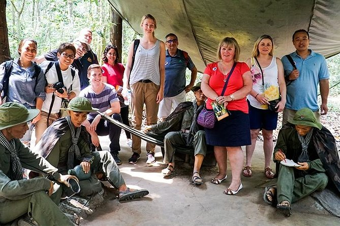 Cu Chi Tunnel Basic Group Tour Half Day From Ho Chi Minh City