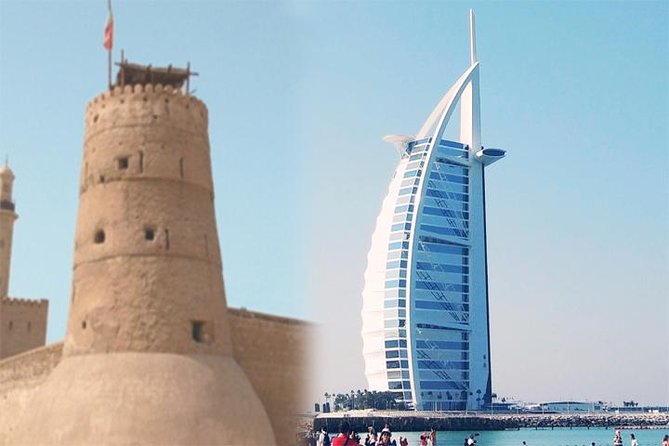 Dubai : Old and Modern Dubai city tour with Blue Mosque visit, Museum, Boat ride