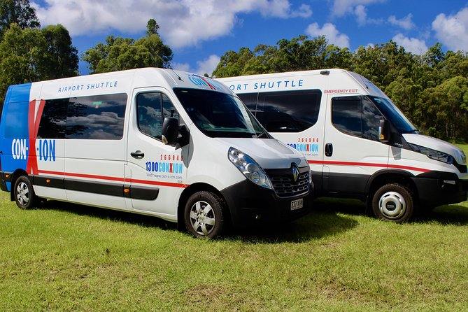 Brisbane Airport Shuttle Transfer to Toowoomba (Transit Stops) Round trip