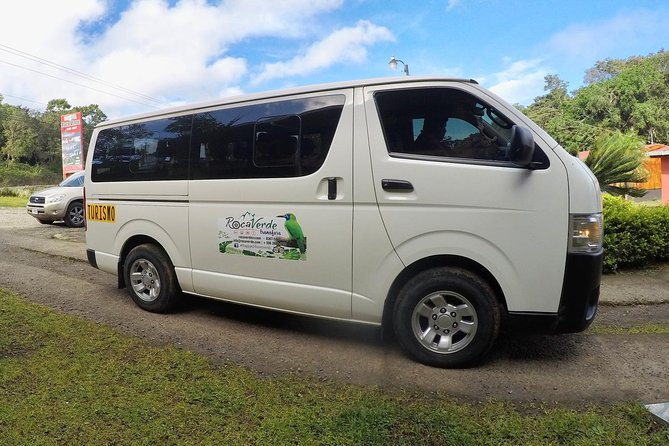 Shared direct Shuttle from Monteverde to Jaco & Manuel Antonio