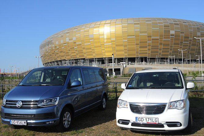 Warsaw to Gdansk or Gdansk to Warsaw private transfer