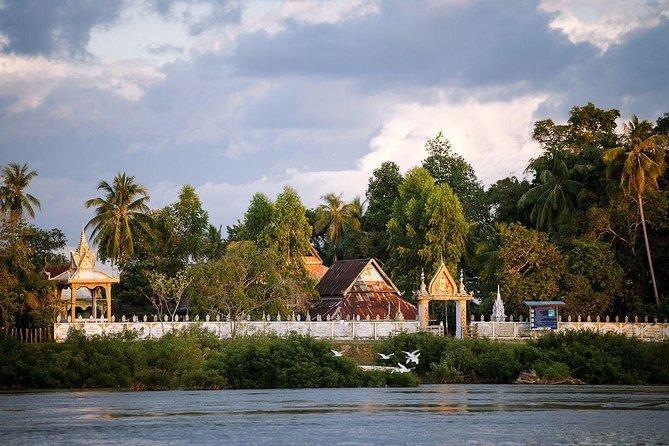 Temple along the Mekong