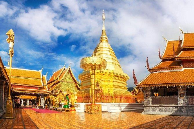 Half Day Tour of Wat Doi Suthep & Phu Ping Palace from Chiang Mai