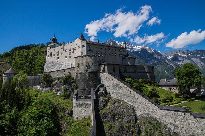 Billet d'entrée au château de Hohenwerfen