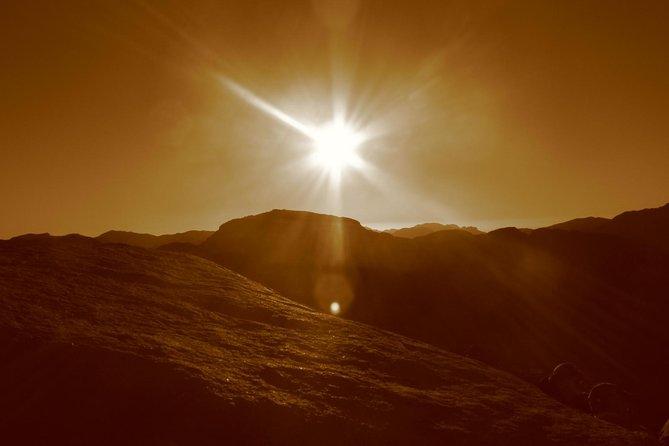 Mount Moses (Sunrise) & St. Catherine from Dahab