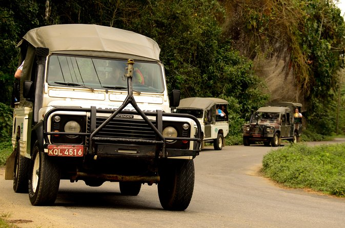 Paraty Jeep Tour with Waterfalls and Cachaça