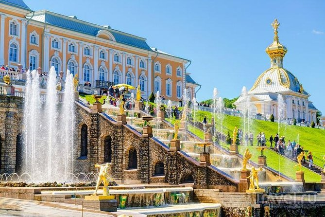 1-Day Private St-Petersburg & Peterhof Highlights Tour.