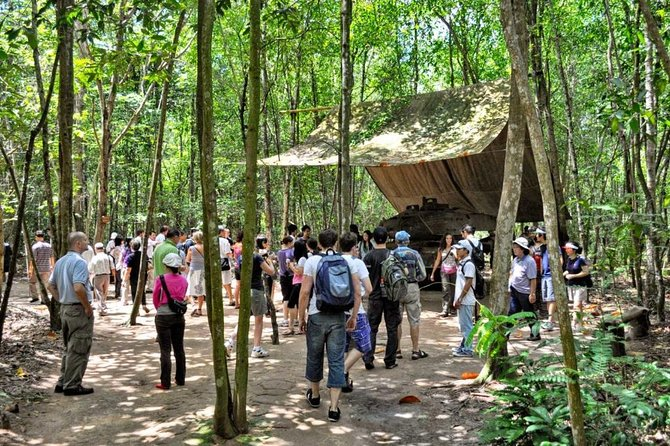 Private HCM City and Cu Chi Tunnels Tour Full day trip from HCM city photo 15